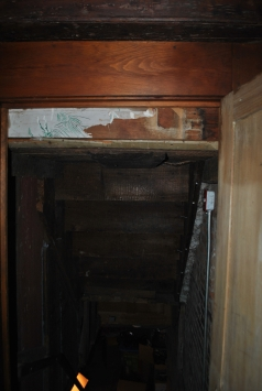 Top of basement stairs