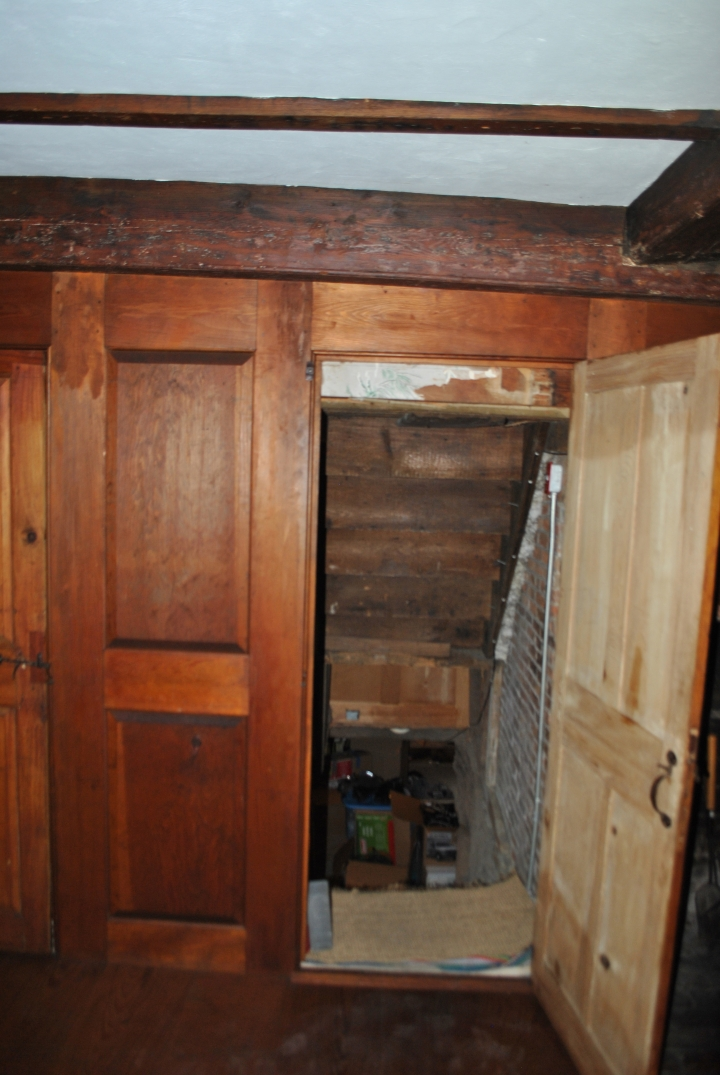 Basement door