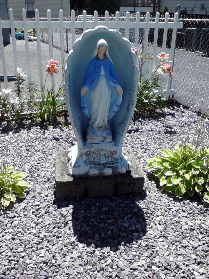 Bathtub Mary (or Mary on the HalfShell)