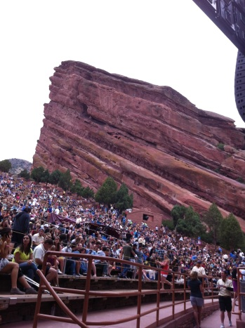 Red Rocks for Foster the People.