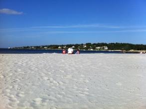 A beach in Gloucester.