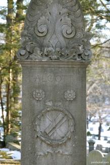 Alcott Family Headstone, Sleepy Hollow, Concord, MA