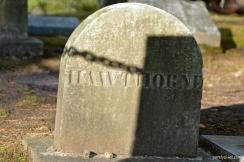 Nathaniel Hawthorne Headstone, Sleepy Hollow, Concord, MA