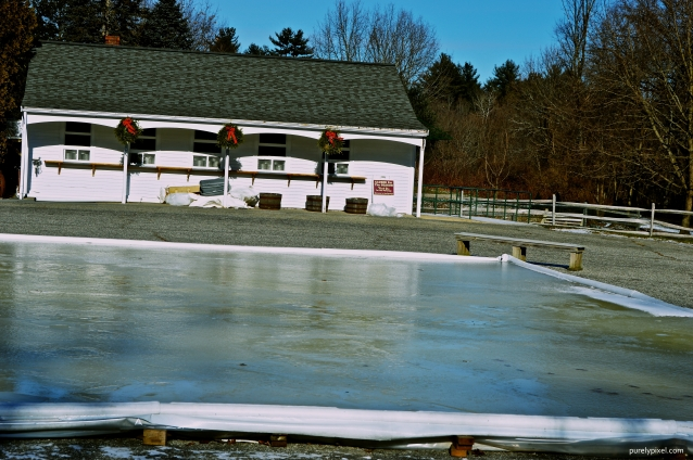 Kimball Farm Ice Cream Stand Skating Rink