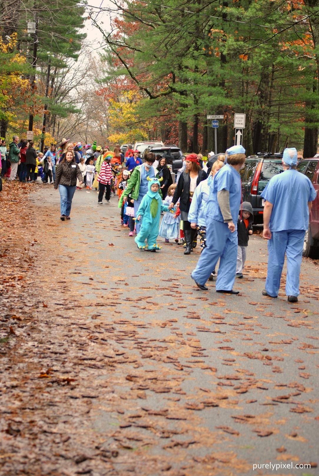 Annual School Halloween Parade
