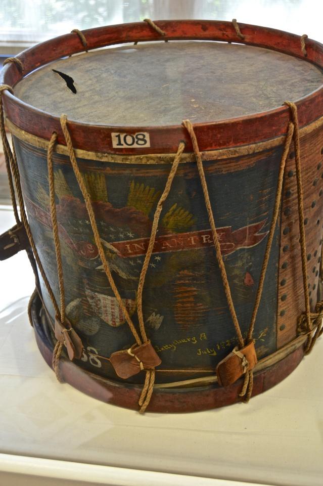 Drum from Battle of Gettysburg