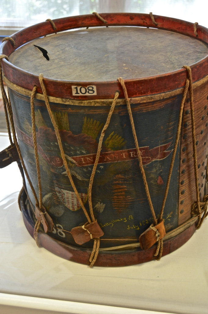 Drum from Battle of Gettysburg