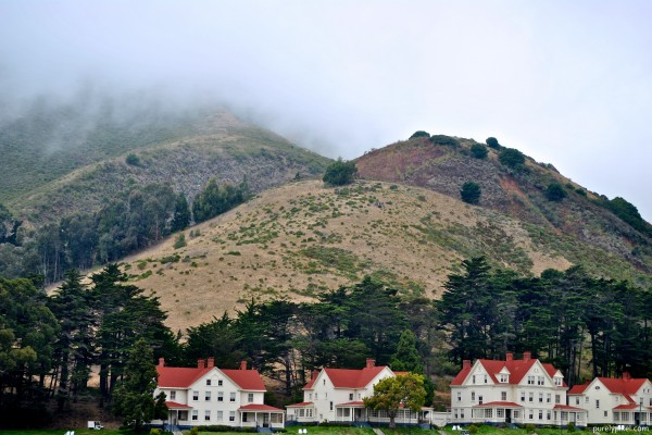 Fog Rolling in at Fort Baker, Golden Gate National Recreation Area
