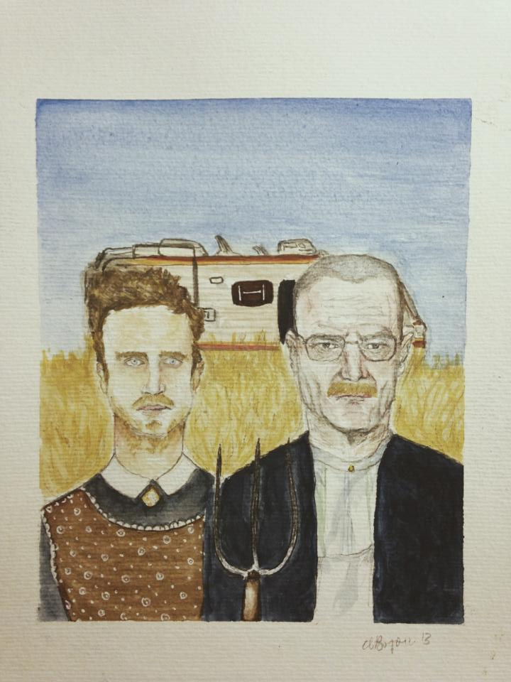 Breaking Bad American Gothic_Milbo